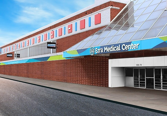 Ezra Medical 60th Street Front View